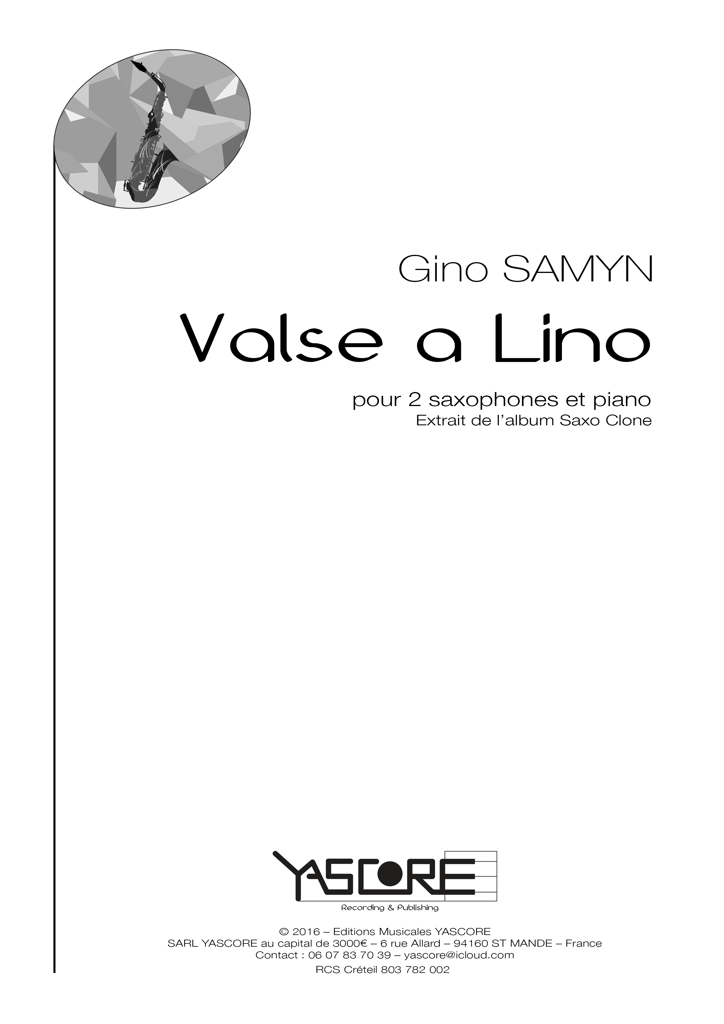 Valse à Lino